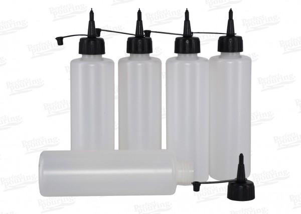 Leergebinde mit Dosieraufsatz - 250 ml, 5er Set
