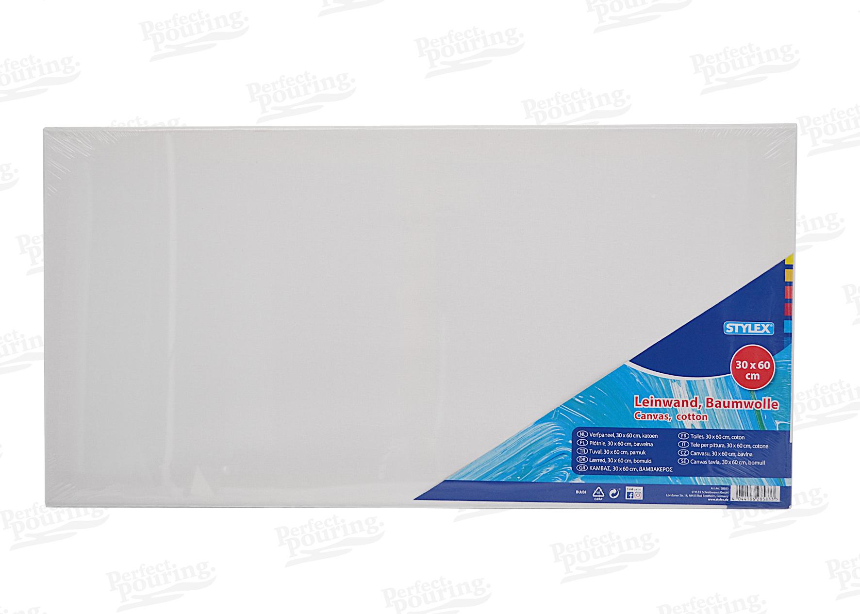 6 LEINW/ÄNDE AUF KEILRAHMEN von XTRADEFACTORY 80 x 100 cm Leinwand malfertig