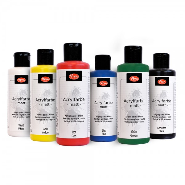 Viva Decor Acryl Set - Basic Colors