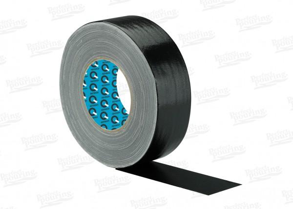 Gewebeband - 50 mm x 50 m, Schwarz